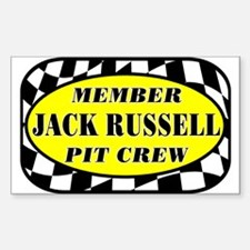Jack Russell PIT CREW Decal