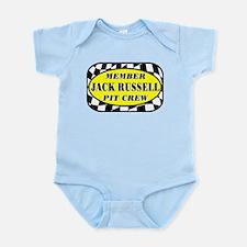Jack Russell PIT CREW Infant Bodysuit