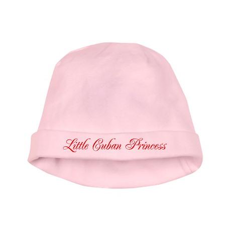 Little Cuban Princess baby hat