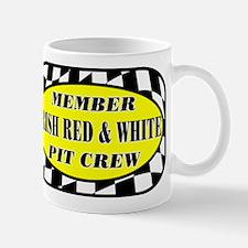 Irish Red & White PIT CREW Mug