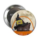 """Trick or Treat Halloween 2.25"""" Button"""