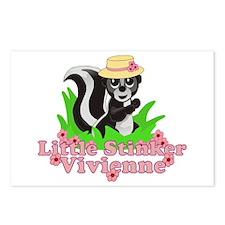 Little Stinker Vivienne Postcards (Package of 8)