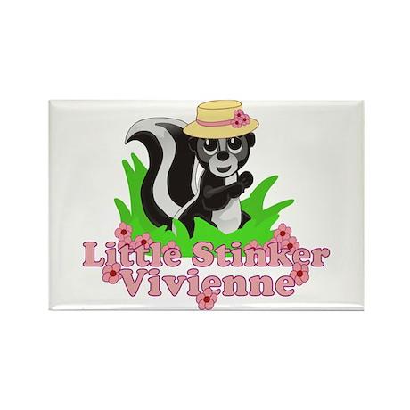 Little Stinker Vivienne Rectangle Magnet (10 pack)