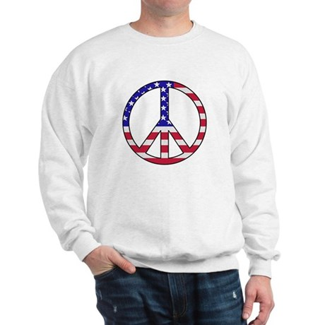 AWOP Peace is Patriotic Sweatshirt
