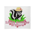Little Stinker Willow Throw Blanket