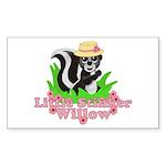 Little Stinker Willow Sticker (Rectangle 10 pk)