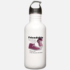 Friends are like Laces Water Bottle