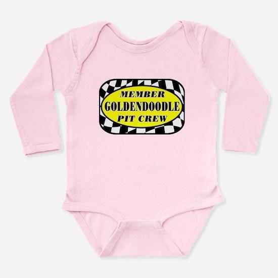 Goldendoodle PIT CREW Long Sleeve Infant Bodysuit