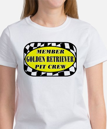 Golden PIT CREW Women's T-Shirt