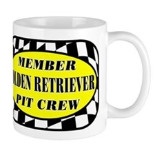 Golden PIT CREW Mug