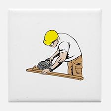 Funny Handy Tile Coaster