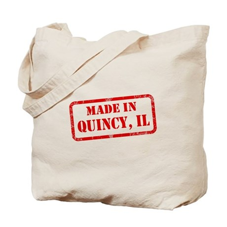 MADE IN QUINCY Tote Bag