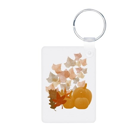 Autumn Aluminum Photo Keychain