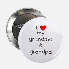 "I love my grandma & grand 2.25"" Button (100 pack)"