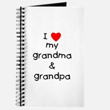 I love my grandma & grandpa Journal