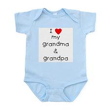 I love my grandma & grandpa Onesie
