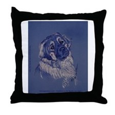 """""""A Dog Understands"""" Throw Pillow"""
