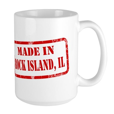 MADE IN ROCK ISLAND Large Mug