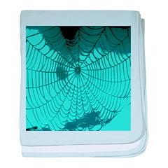 Spider Webs baby blanket
