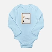 Cute Zits Long Sleeve Infant Bodysuit