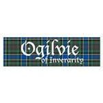 Tartan - Ogilvie of Inverarity Sticker (Bumper 50