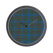 Tartan - Ogilvie of Inverarity Wall Clock