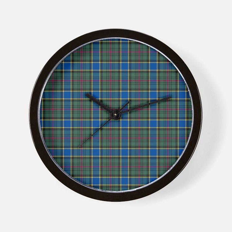Tartan - Ogilvie of Inverarity Wall Clock