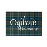 Tartan - Ogilvie of Inverarity Rectangle Magnet (1
