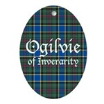 Tartan - Ogilvie of Inverarity Ornament (Oval)