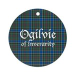 Tartan - Ogilvie of Inverarity Ornament (Round)