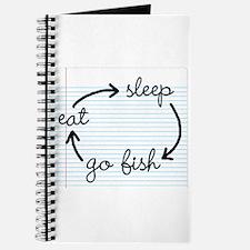 'Eat Sleep Go Fish' Journal