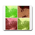 Pop Art Spider Web Mousepad