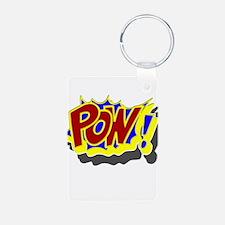 POW! Comic Book Style Keychains