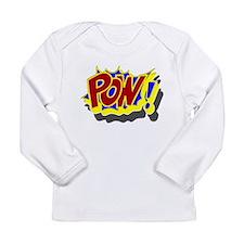 POW! Comic Book Style Long Sleeve Infant T-Shirt