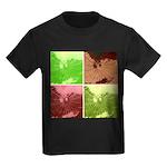 Pop Art Spider Web Kids Dark T-Shirt