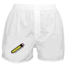 'Drawing Quote' Boxer Shorts
