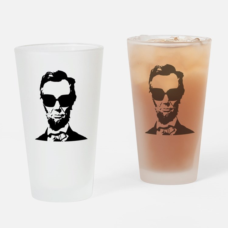 Abe Drinking Glass