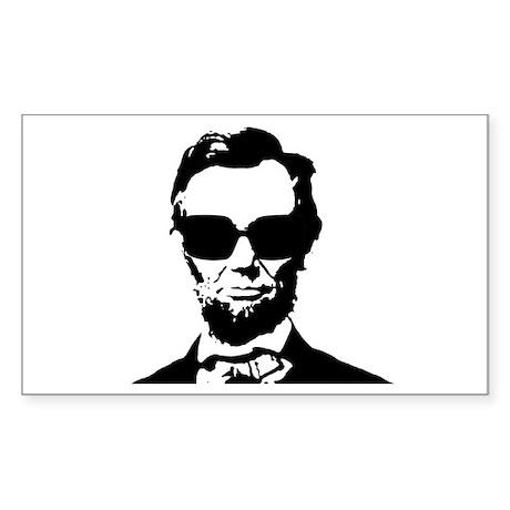 Abe Sticker (Rectangle)