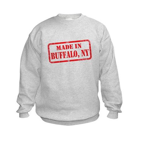 MADE IN BUFFALO, NY Kids Sweatshirt