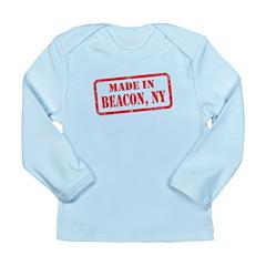 MADE IN BEACON, NY Long Sleeve Infant T-Shirt