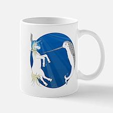 Unicorn Meets Narwhal Mug