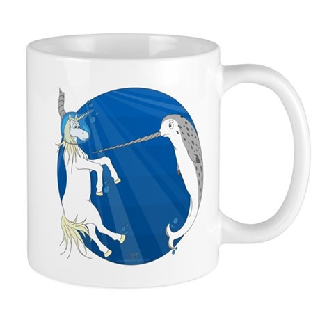 Unicorn Meets Narwhal Mug