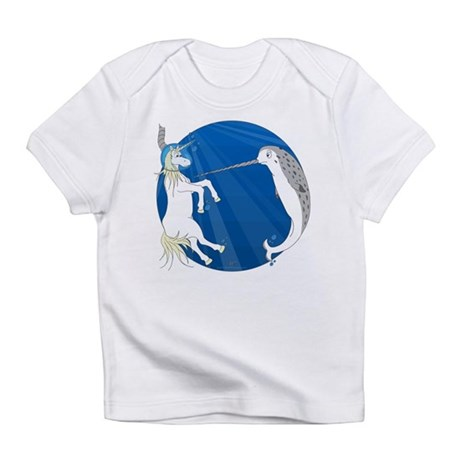 Unicorn Meets Narwhal Infant T-Shirt
