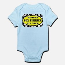 Fox Terrier PIT CREW Infant Bodysuit