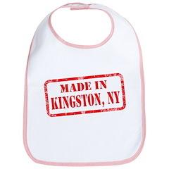 MADE IN KINGSTON, NY Bib