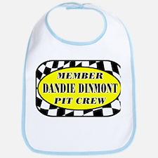 Dandie Dinmont PIT CREW Bib