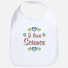 I Love Science Bib