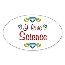 I Love Science Decal