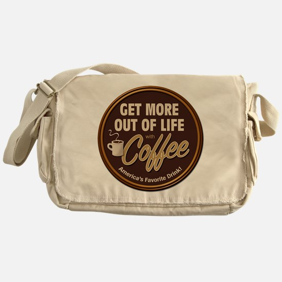 Get More Out of Life With Coffee Messenger Bag