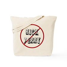 anti rick perry Tote Bag